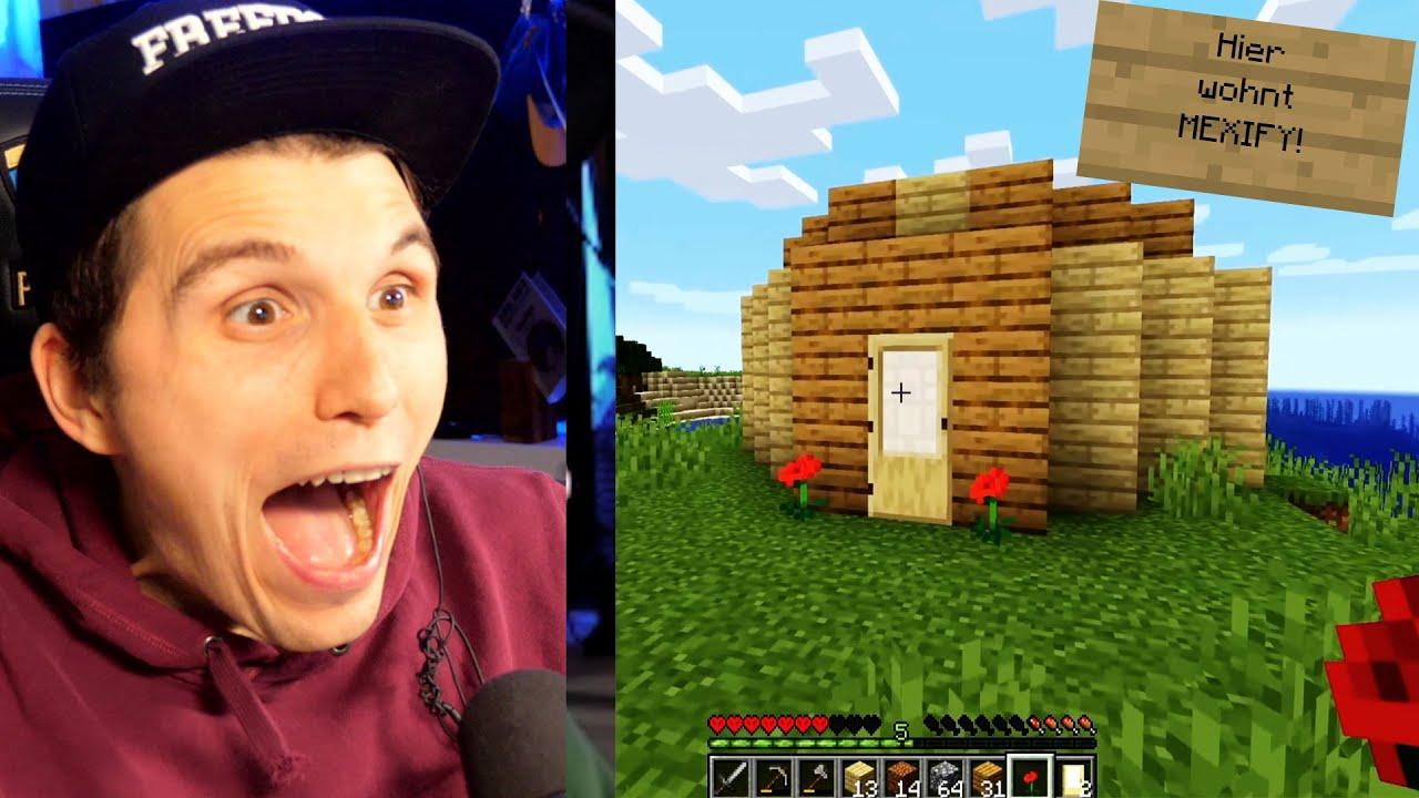 Paluten REAGIERT auf MEXIFY ´s erstes Minecraft Video.