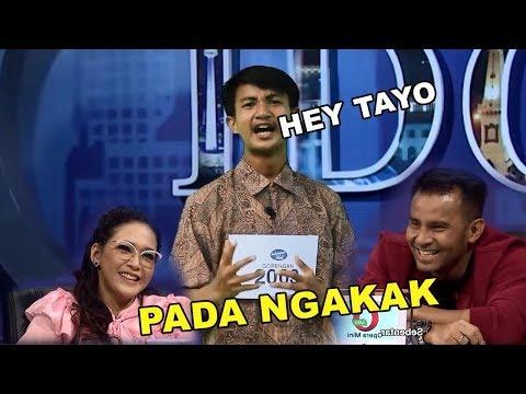 NYANYI LAGU HEY TAYO, JURI NGAKAK ! Peserta  Indonesian Idol Ini Paling Gokil !! 2018