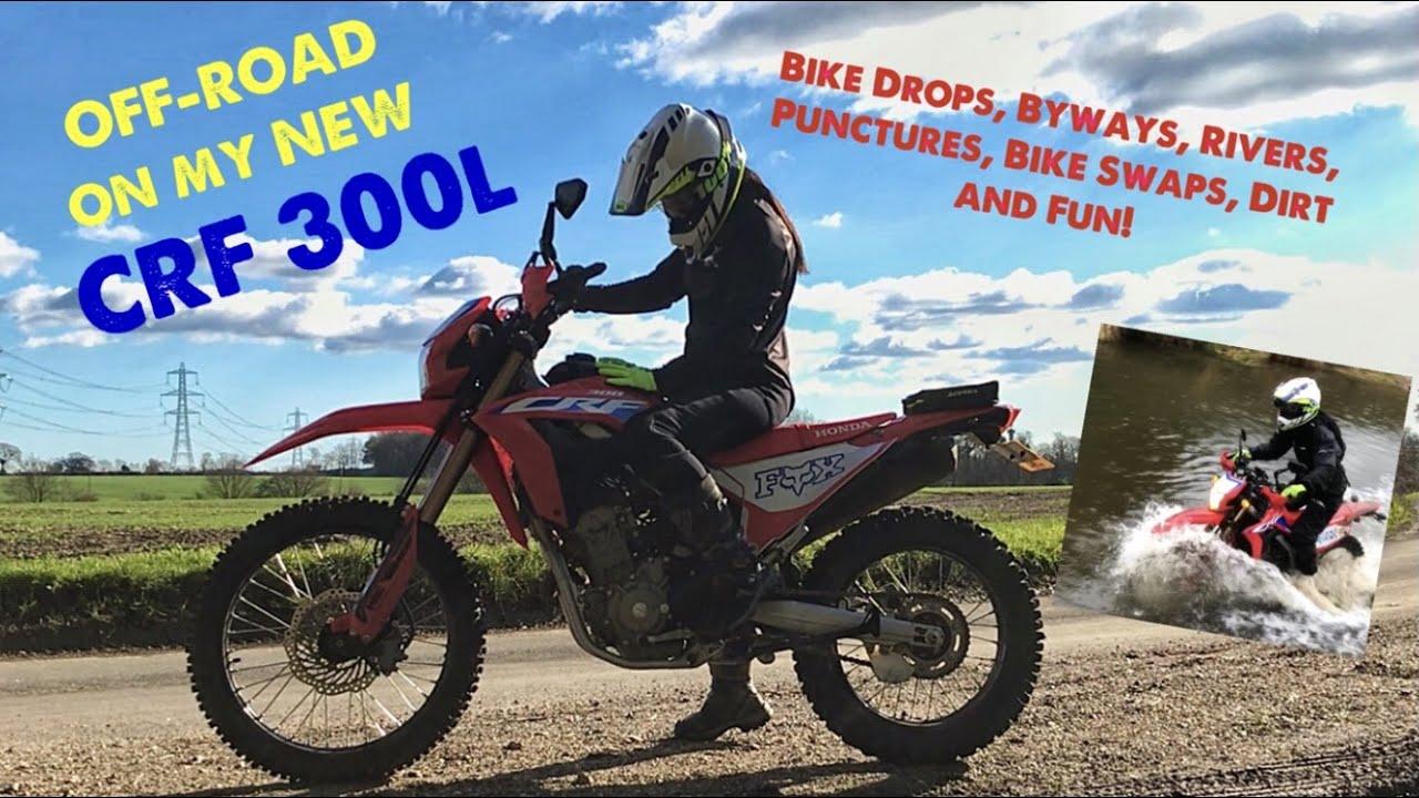 Download Trying out my NEW CRF 300L ON BYWAYS - RIVER CROSSINGS, DROPS, PUNCTURES, FUN & A WHOLE LOT OF MUD!