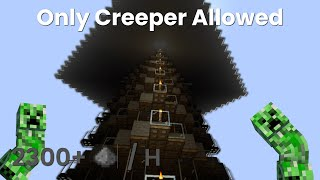 Minecraft Creeper Farm - Efficient Creeper Design -  1.16+