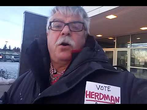 Airdrie ab City Steals $8K from Business✓  vote Herdman Council 16oct17 ©® Herdman Media