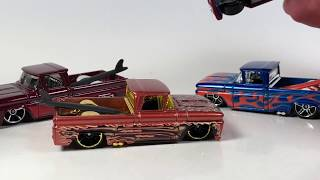 10 Car Tuesday - Hot Wheels Chevy Trucks
