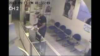 IPHONE THIEF AT AN OPTICAL STORE IN CROWN HEIGHTS, BROOKLYN, NEW YORK