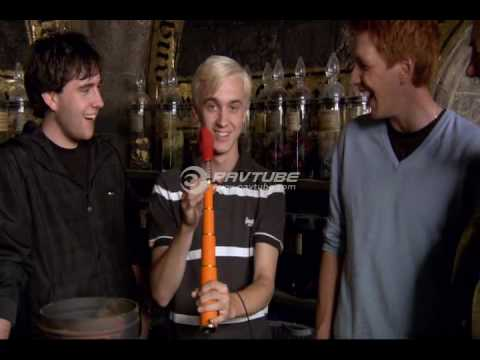 Special Effects with Matthew Lewis, Oliver Phelps and Tom Felton From HBP DVD