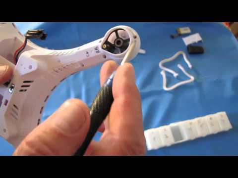 JJRC H8C Quadcopter, How to Change a Motor