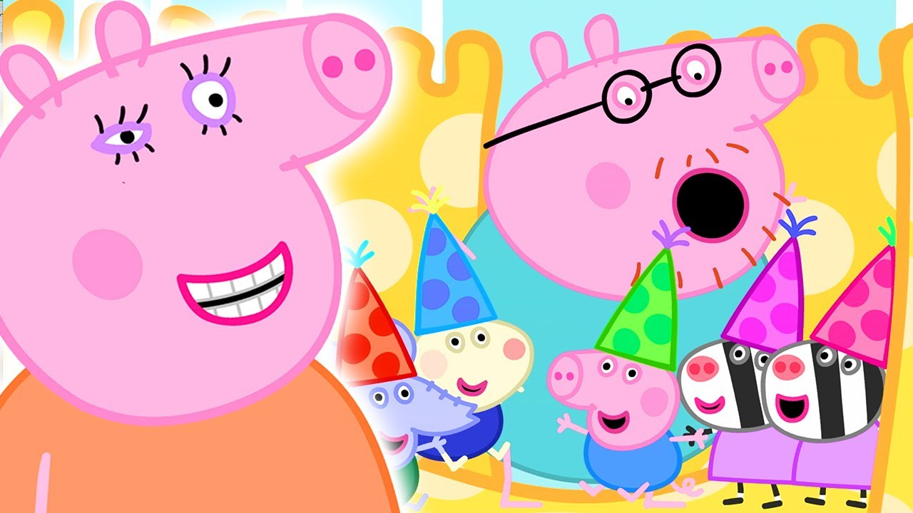 Peppa Pig Official Channel | Miss Rabbit's Relaxation Class