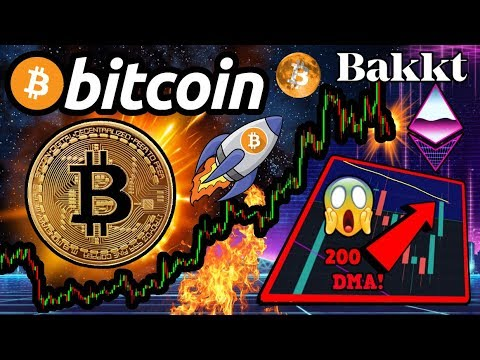 BITCOIN: Can This PARABOLIC Trend LAST?! Deutsche Bank BULLISH!? Bakkt ETH Futures?