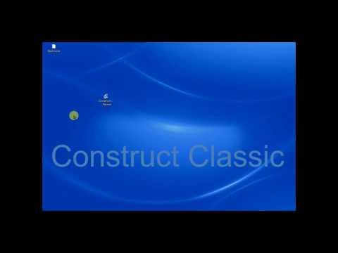 Construct Classic - Как делать игры без знания языков программирования?