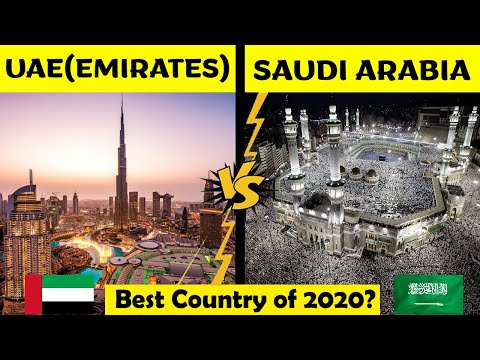 United Arab Emirates VS Saudi Arabia | Saudi Arabia and UAE | Country Comparison 2020