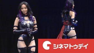 グラビアアイドルの吉木りさが1日、都内で行われた映画『X-MEN:アポカリ...