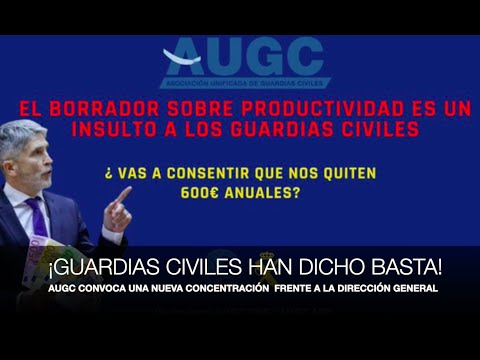 ¡GUARDIAS CIVILES REVIENTAN DEFINITIVAMENTE!