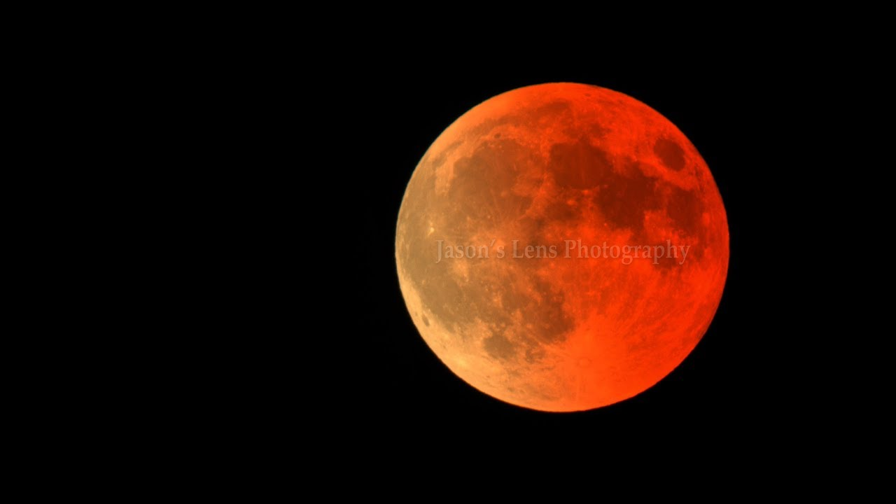 blood moon eclipse time lapse - photo #38