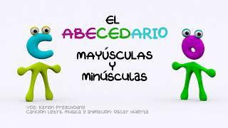 El Abecedario, en español, Mayúsculas y minúsculas The ABC Children's Songs
