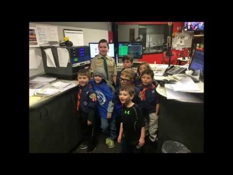 Cub Scout Pack 234 - Tiger Den -  QFM96 Visit 2015