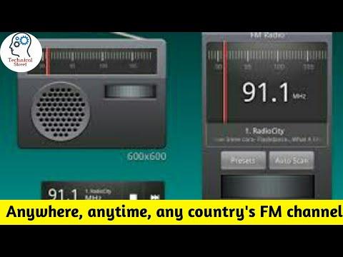Listen Any FM radio station in anywhere, All Fm channel, FB radio App [Bengali]