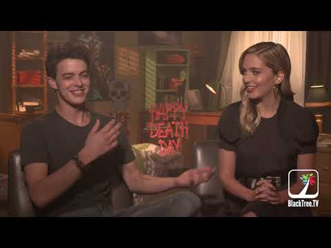Happy Death Day  w Israel Broussard and Jessica Rothe