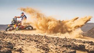 Who said preparing for Rally Dakar is exhausting?
