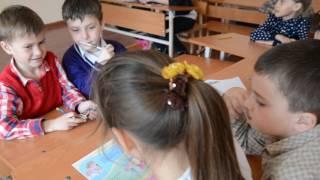 17 березня класна година безпека і здоров'я - урок в 1-В класі ЗОШ №8 м. Мелітополь
