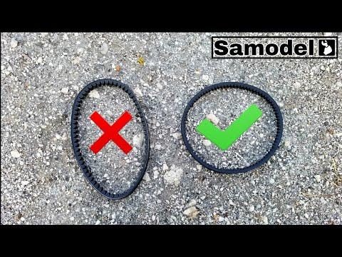 Как подобрать ремень вариатора на скутер, чтобы выходил на радиус.