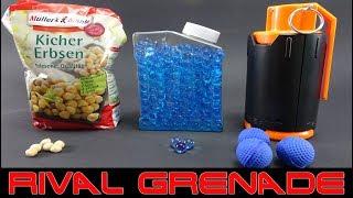 NERF RIVAL GRENADE [GRANATE FÜR RIVAL BÄLLE | WATER BULLETS | KICHER ERBSEN]