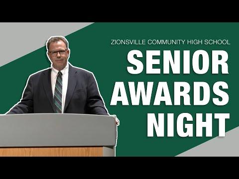 Zionsville Community High School Senior Awards Night 2020