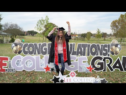 Lee College Commencement Parade 2020