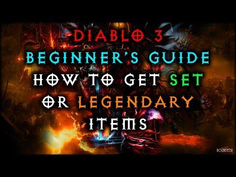 Diablo 3 Beginner's Guide: How to get Set / Legendary items
