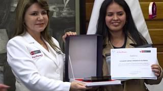Tema: Reconocimiento del Ministerio de Salud a Estudiante de la Facultad de Medicina San Fernando.