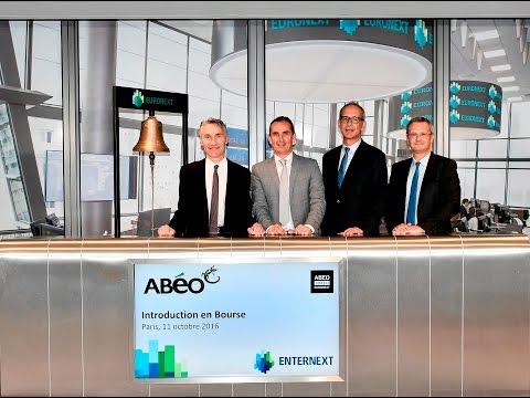 Introduction en bourse de ABEO sur Euronext