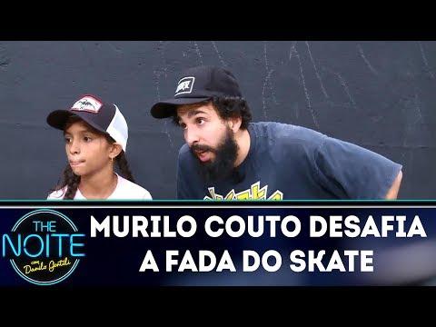 Murilo Couto desafia Rayssa Leal | The Noite (16/03/18)