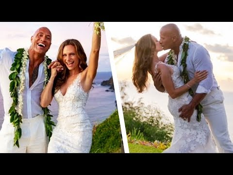 Dwayne Johnson Is MARRIED! See Inside His Romantic Hawaiian Wedding