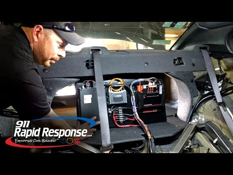 Custom Behind Seat Equipment Mounting Interceptor Sedan | Shop Tech Tuesday | 911RR