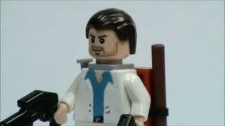 lego left 4 dead 2 nick minifigure