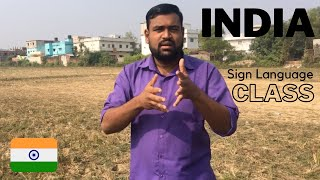 Learn INDIA Sign Language with Deepu!   ISL Online Class