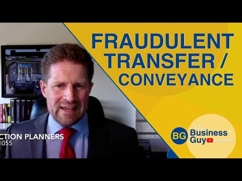 Fraudulent Conveyance Transfers and Asset Protection