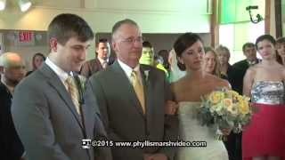 Eastern Shore Wedding Video/Ceremony/Oxford Maryland