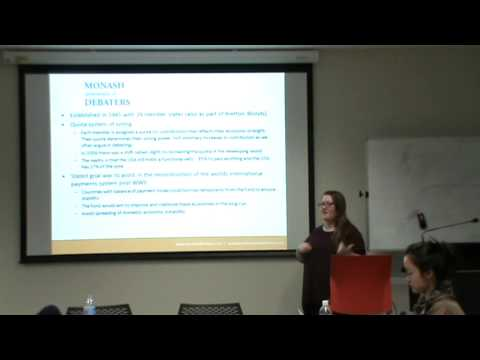 International Institutions (WTO, IMF, World Bank and Regional Trading blocs) - Gemma
