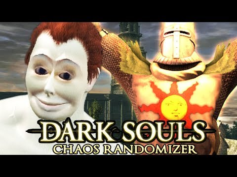 Dark Souls Chaos Randomizer Challenge : Cursed Seed (ft. Tomato)
