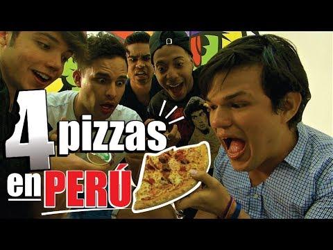 Como son las pizzas con ioa, Dan jackson, Jorge comedia, Ricardo - Venezolanos en Peru