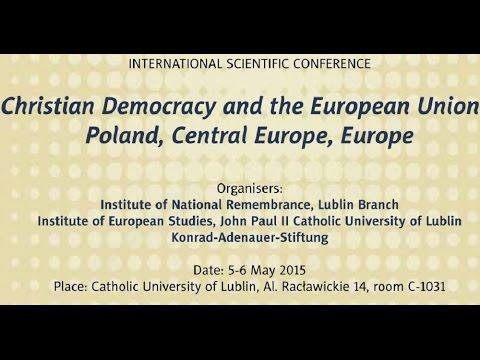 IPNtv Konferencje: Christian Democracy and the EU – Keynote speaker by Wolfram Kaiser (ENG)