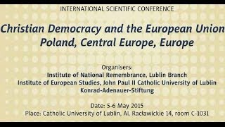 IPNtv Konferencje: Christian Democracy and the EU – Keynote speaker by Wolfram Kaiser (ENG)