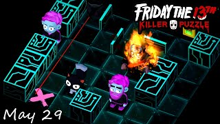 Friday the 13th: Killer Puzzle - Daily Death May 29 Walkthough (iOS, Android)
