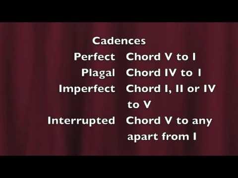 GCSE Music | Cadences