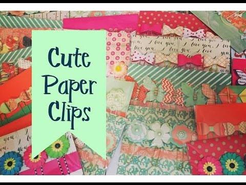 Craft Fair Idea #2:  Cute Paper Clip Packs (with tutorial) 2016