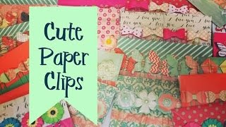 Craft Fair Idea #2:  Cute Paper Clip Packs (with tutorial) 2016