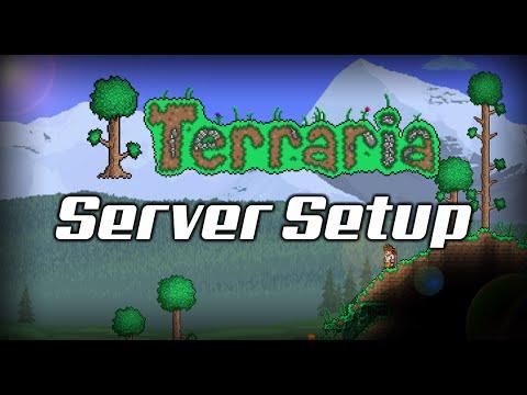 How to setup a Terraria Server (EASY) (NO HAMACHI) (*No steam either despite what I say*)