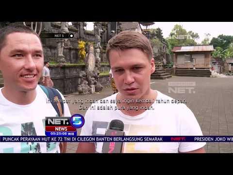 Jamin Keamanan Bali Bagi Wisatawan, Menteri Pariwisata Kunjungi Pura Besakih - NET5