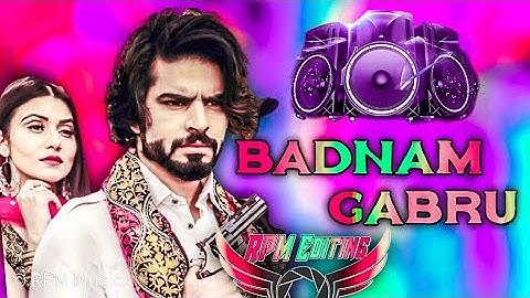 Badnam Gabru Dj Remix  Masoom  Sharma New Haryanavi Songs 2021  Tere Yaar Ke Sahare Sarkar Chale Hai