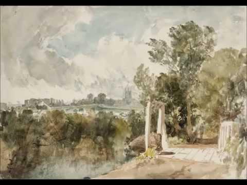 Acuarelas. Estudios en acuarela de J.M.W. Turner