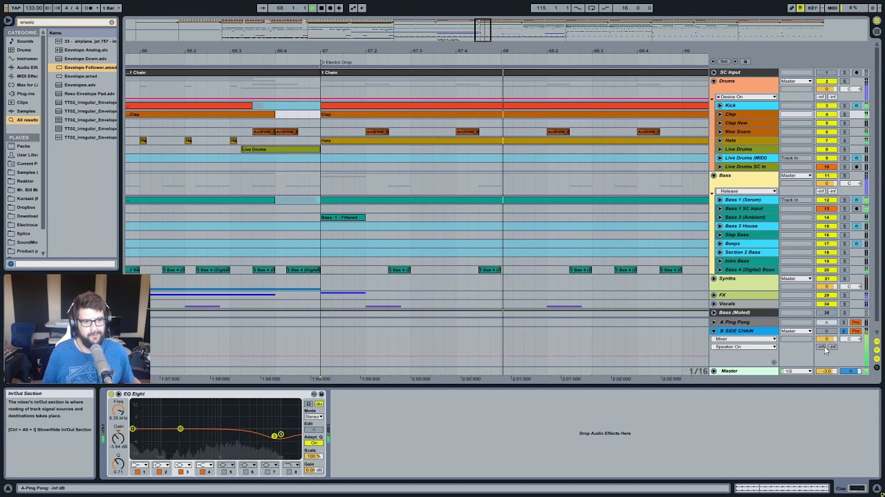 Mr  Bill - Ableton Tutorial 58: Solutions For The Sidechain Click Input  Problem